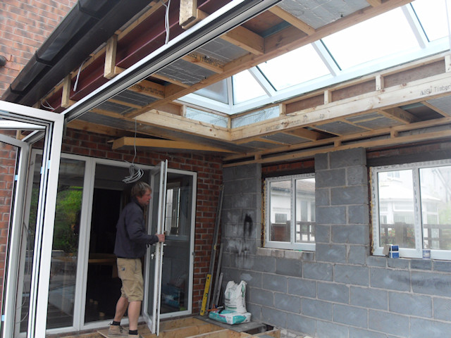 Offerton Sun Room constructed by Perennial Windows.