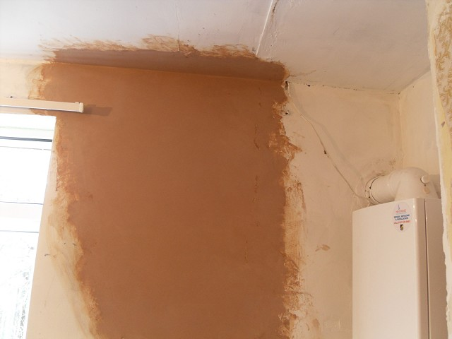Smooth plaster skimmed finish applied.